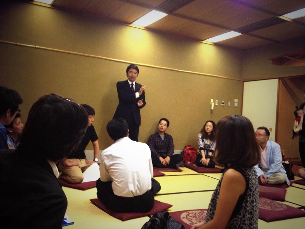 松尾市長も鎌倉の地域づくりをプレゼン。