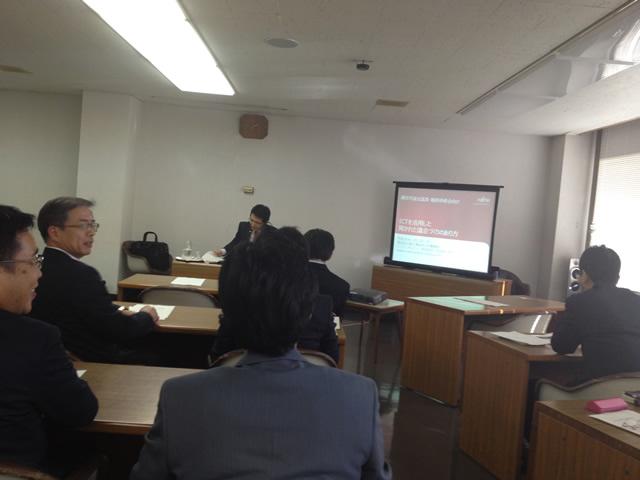 テーマは「ICTを活用した開かれた議会づくりのあり方」